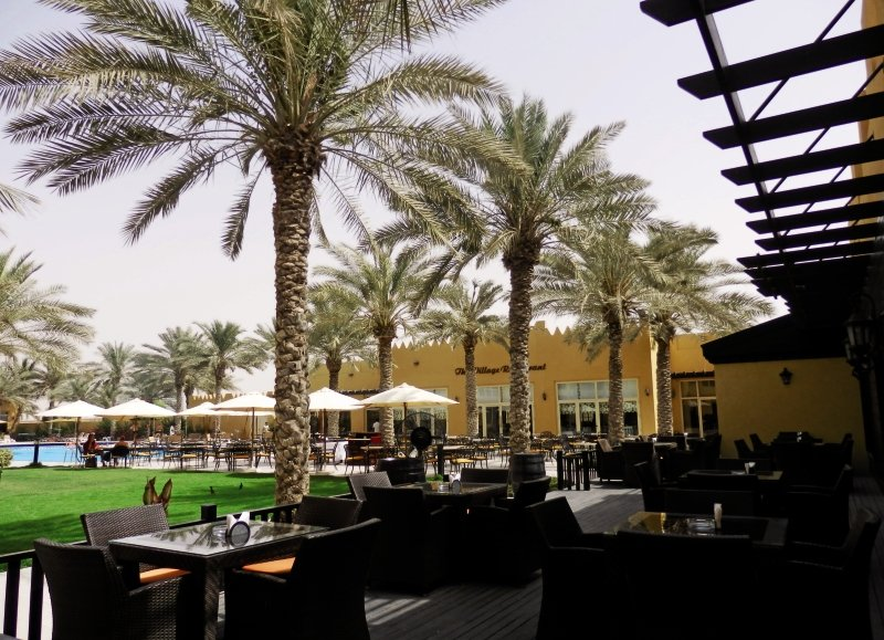 Al Hamra Village Golf & Beach ResortTerasse