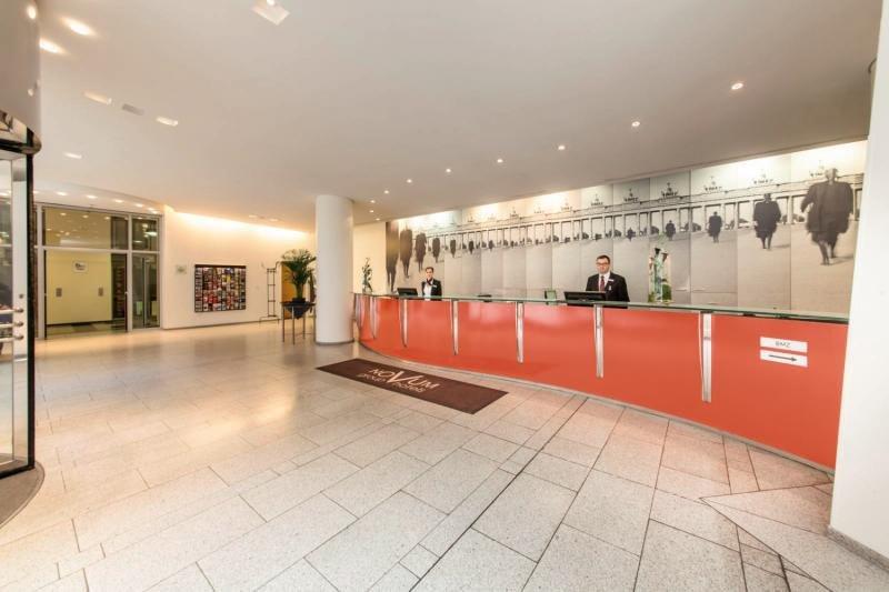 Novum Select Hotel Berlin OstbahnhofLounge/Empfang