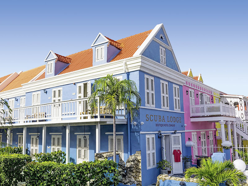 Scuba Lodge Boutique & Ocean Suites Hotel in Willemstad (Insel Curacao) ab 965 €