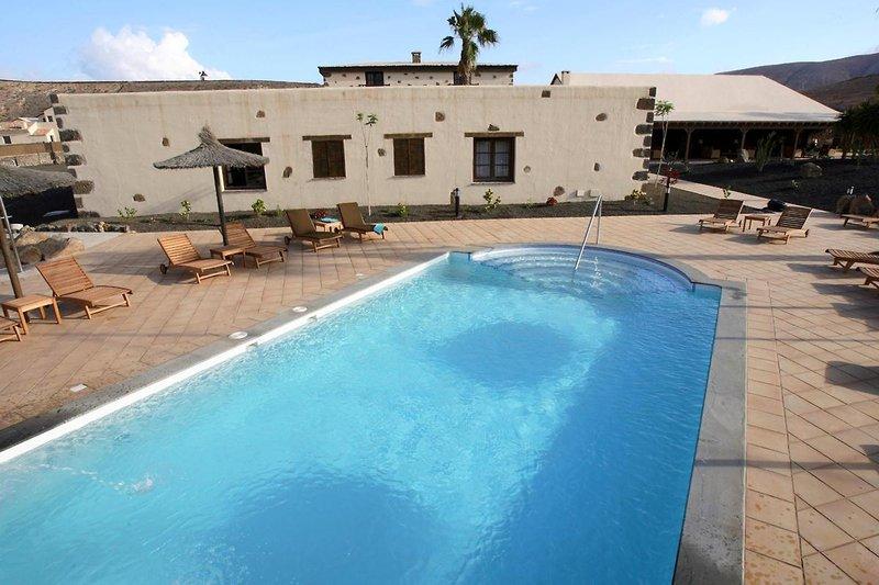 Hotel Boutique und Villas Oasis Casa Vieja in La Oliva, Fuerteventura P
