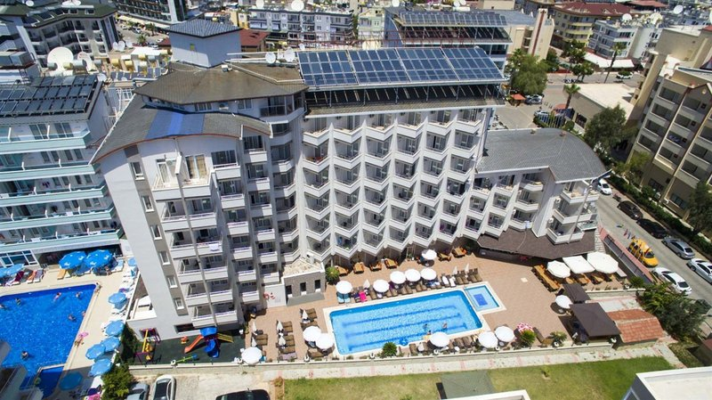 Grand Atilla Hotel in Alanya, Türkische Riviera TE