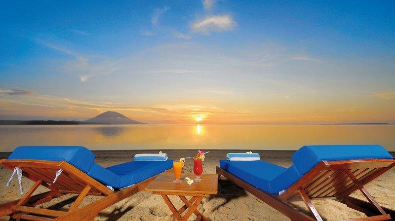 Siladen Resort in Siladen Island, Indonesien - Sulawesi S