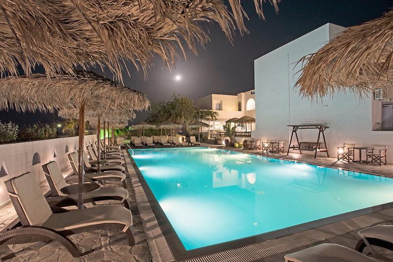 Hotel Alexandra in Kamari, Santorin HB
