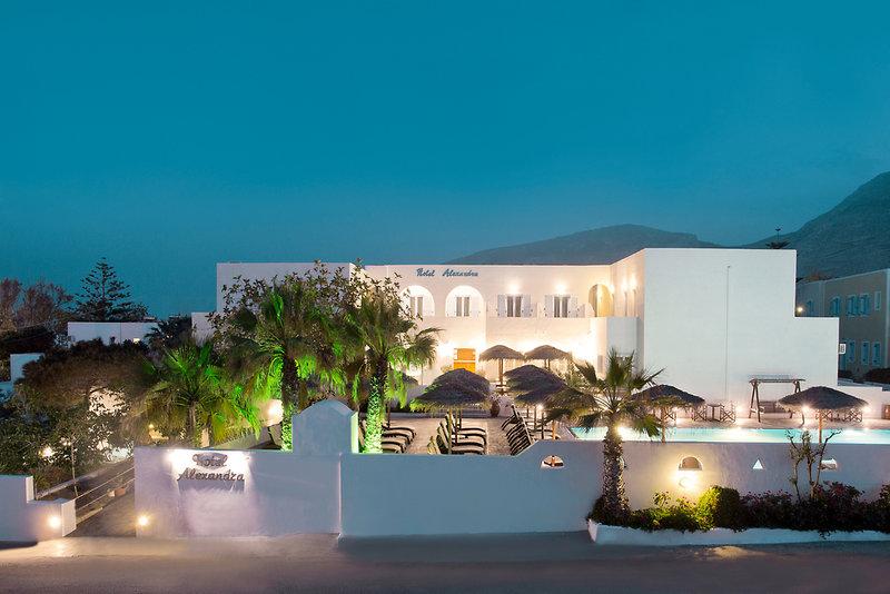 Hotel Alexandra in Kamari, Santorin A