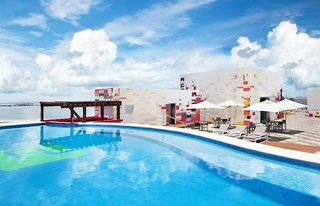 Hotel Aloft Cancun Pool