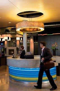 Hotel Aloft Cancun Lounge/Empfang