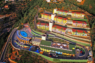 Hotel Avalon Sikani Resort Luftaufnahme