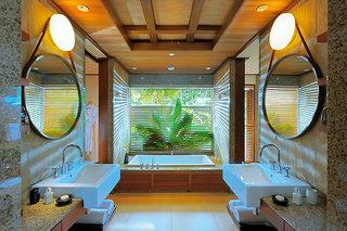 Hotel Constance Ephelia Mahe, Seychelles Badezimmer
