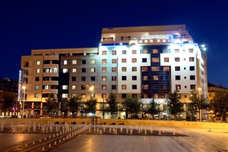 Hotel Mundial Außenaufnahme