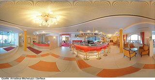 Hotel Amadeus Micheluzzi Lounge/Empfang
