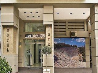 Hotel Epidavros Außenaufnahme