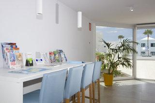 Hotel Aqua Suites Lounge/Empfang