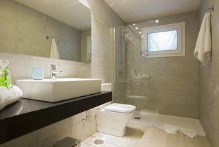 Hotel Aqua Suites Badezimmer