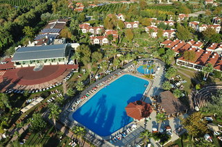 Hotel Club Tuana Luftaufnahme