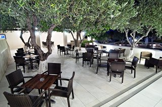 Hotel Ourania Apartments Terasse