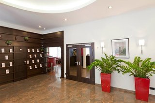 Hotel Boltzmann Lounge/Empfang