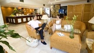 Hotel Hotel Cala Ferrera Lounge/Empfang