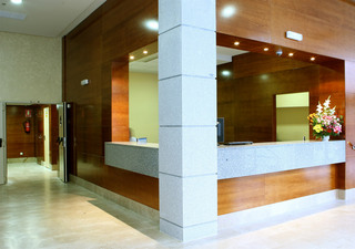 Hotel Ganivet Lounge/Empfang