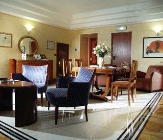Hotel Best Western Artdeco Lounge/Empfang