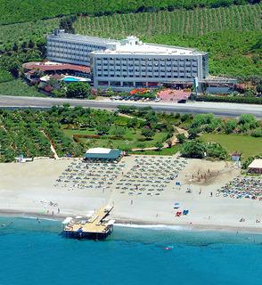 Hotel Dinler Hotels - Alanya Luftaufnahme