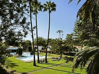 Hotel Bungalows Cordial Biarritz Garten