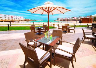 Hotel SUNRISE Crystal Bay Resort Terasse