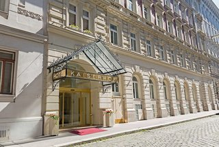 Hotel Kaiserhof Wien Außenaufnahme