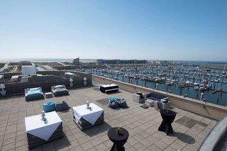 Hotel Apollo Hotel Ijmuiden Seaport Beach Terasse