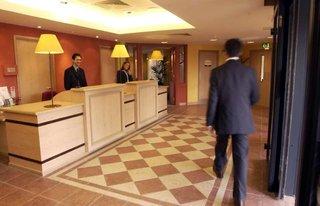 Hotel Campanile Glasgow SECC Hydro Lounge/Empfang