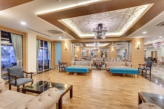 Hotel Sherwood Exclusive Lara Lounge/Empfang