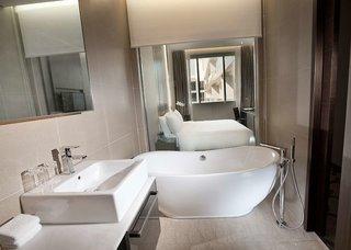 Hotel Dorsett Singapore Badezimmer