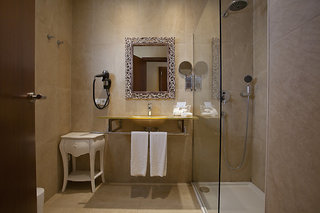 Hotel La Pergola Badezimmer