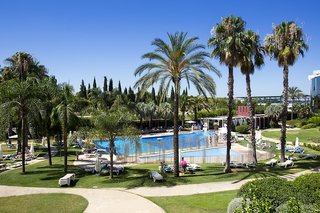 Hotel Silken Al Andalus Palace Garten