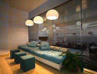 Hotel Kamari Beach Lounge/Empfang