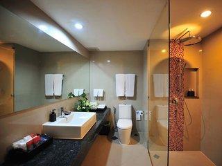 Hotel Aonang Cliff Beach Resort Badezimmer