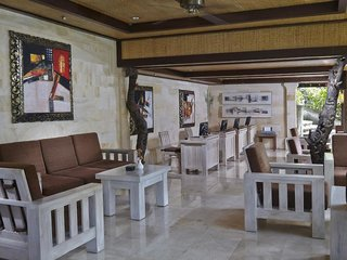 Hotel Tjampuhan Hotel & Spa Lounge/Empfang