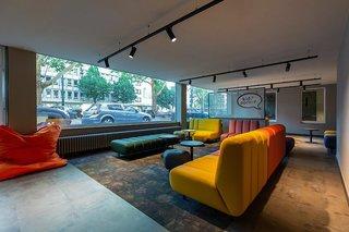 Hotel a&o Hauptbahnhof Düsseldorf Lounge/Empfang