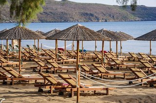 Hotel Atlantica Amalthia Beach Strand