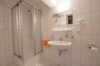 Hotel Alpenfriede Jerzens Badezimmer