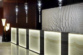 Hotel Marriott Hotel Al Jaddaf Dubai Lounge/Empfang