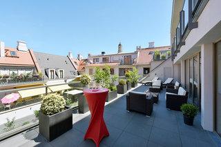Hotel Amedia Plaza Dresden Terasse