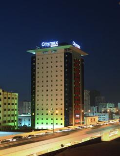 Hotel CityMax Sharjah Außenaufnahme