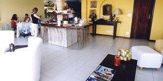 Pousada Byblos Lounge/Empfang