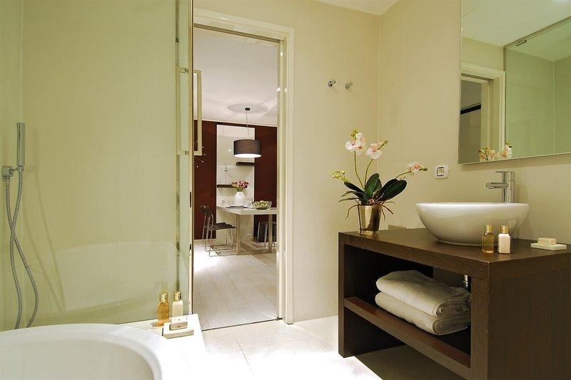 New York Residence Budapest  Badezimmer