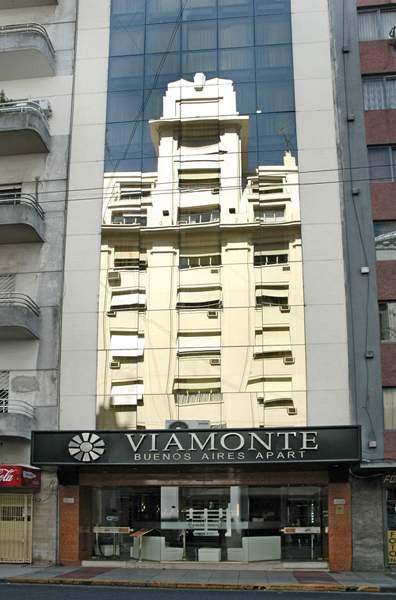 Viamonte Buenos Aires Apart Außenaufnahme