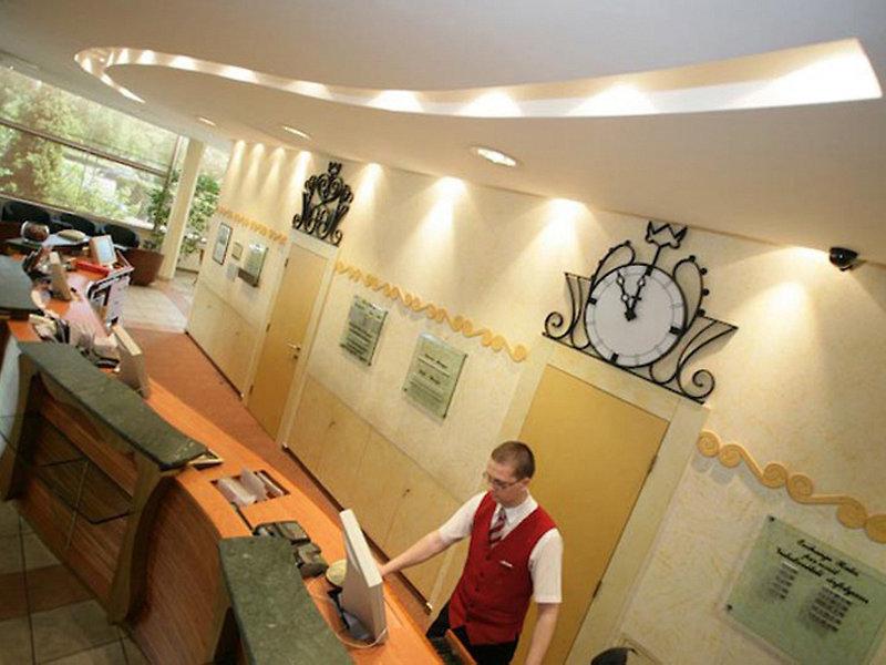 Mercure Budapest Buda Lounge/Empfang