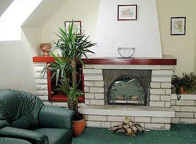 Korona Pension Lounge/Empfang