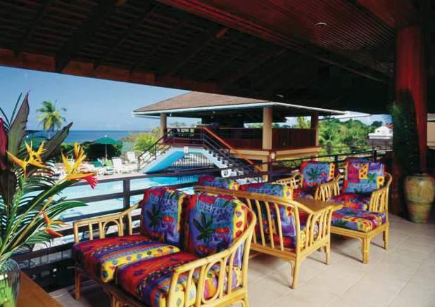 Grafton Beach Resort Terrasse