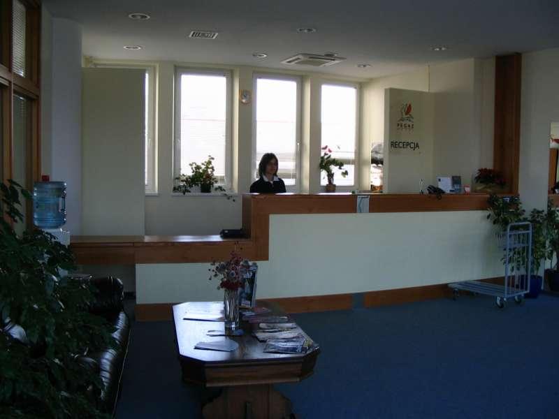 InterHouse Hotel  Lounge/Empfang