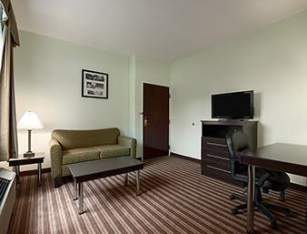 Days Inn & Suites Dallas Wohnbeispiel